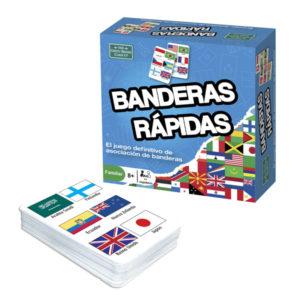 Jogo de cartas bandeiras rápidas da Brainbox