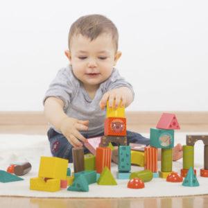 Brinquedo de construção Forest Animals