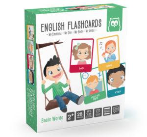 Jogo de cartas para aprender vocabulário básico